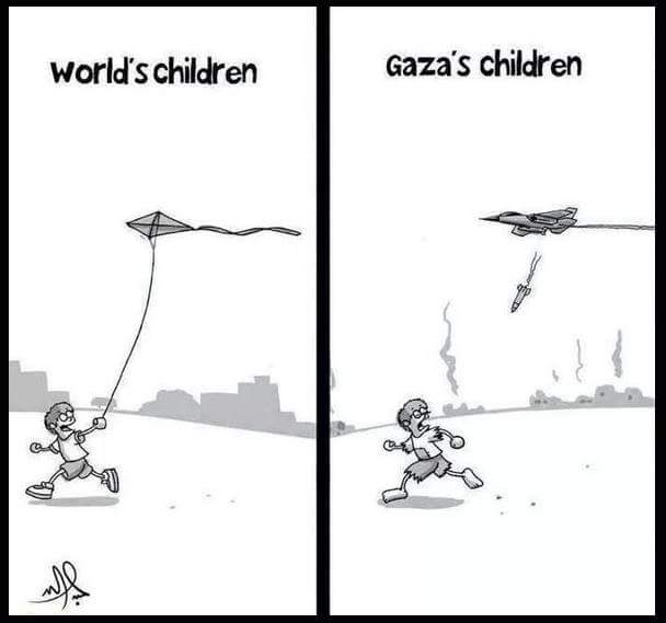 Childhood is forgotten in Palestine, Gaz...