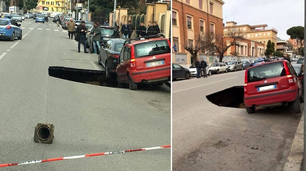 Maxi voragine si apre in strada a Roma: il video del crollo - #voragine #strada #Roma: #video #crollo  https:// www.zazoom.info/ultime-news/4031435/maxi-voragine-si-apre-in-strada-a-roma-il-video-del-crollo/  - Ukustom