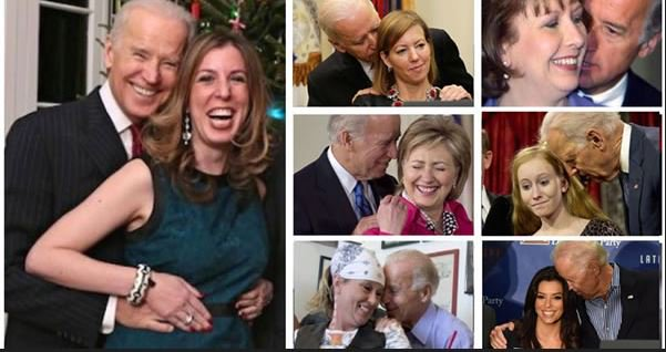 Biden 2020 campaign slogan Hands Up! Dont Grope! #metoo  #ThursdayThoughts  #MAGA