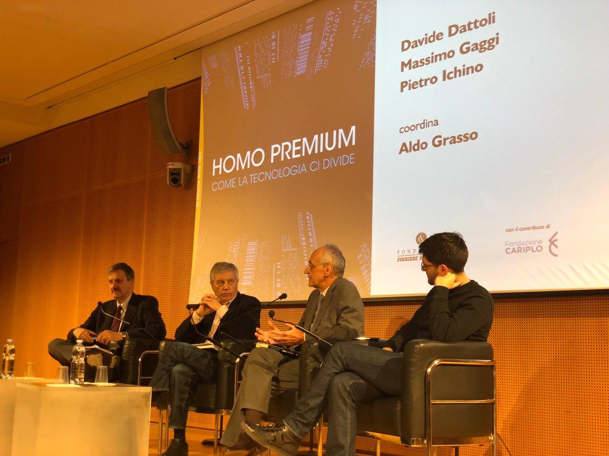 Homo Premium (@editorilaterza) di @massimogaggi va letto.