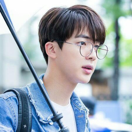 P.S. Seokjin in glasses is a whole mood...