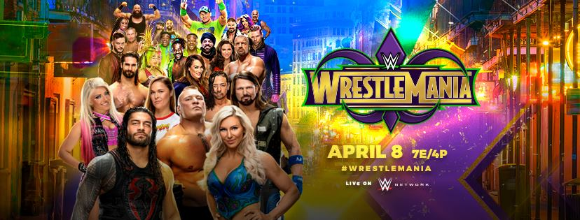 wrestlemania 34 - DY6V4rUW4AAsk5l - Wrestlemania 34 Poster, Matches, Predictions, location, Date, Time