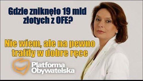 To że Kidawa Błońska jest marszałkiem se...