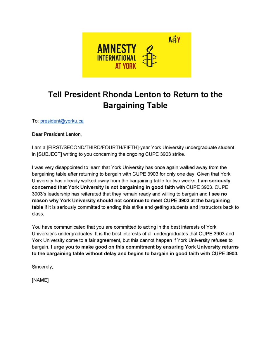 Amnesty at York on Twitter: \