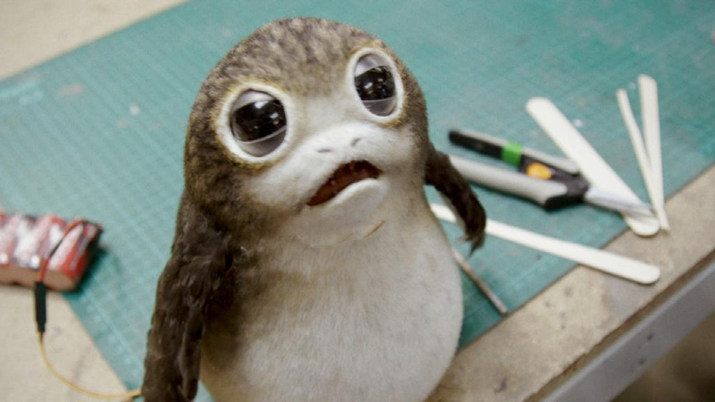 Here's how the Porgs from @StarWars: #TheLastJedi were created! https://t.co/Xiiltl6eCI