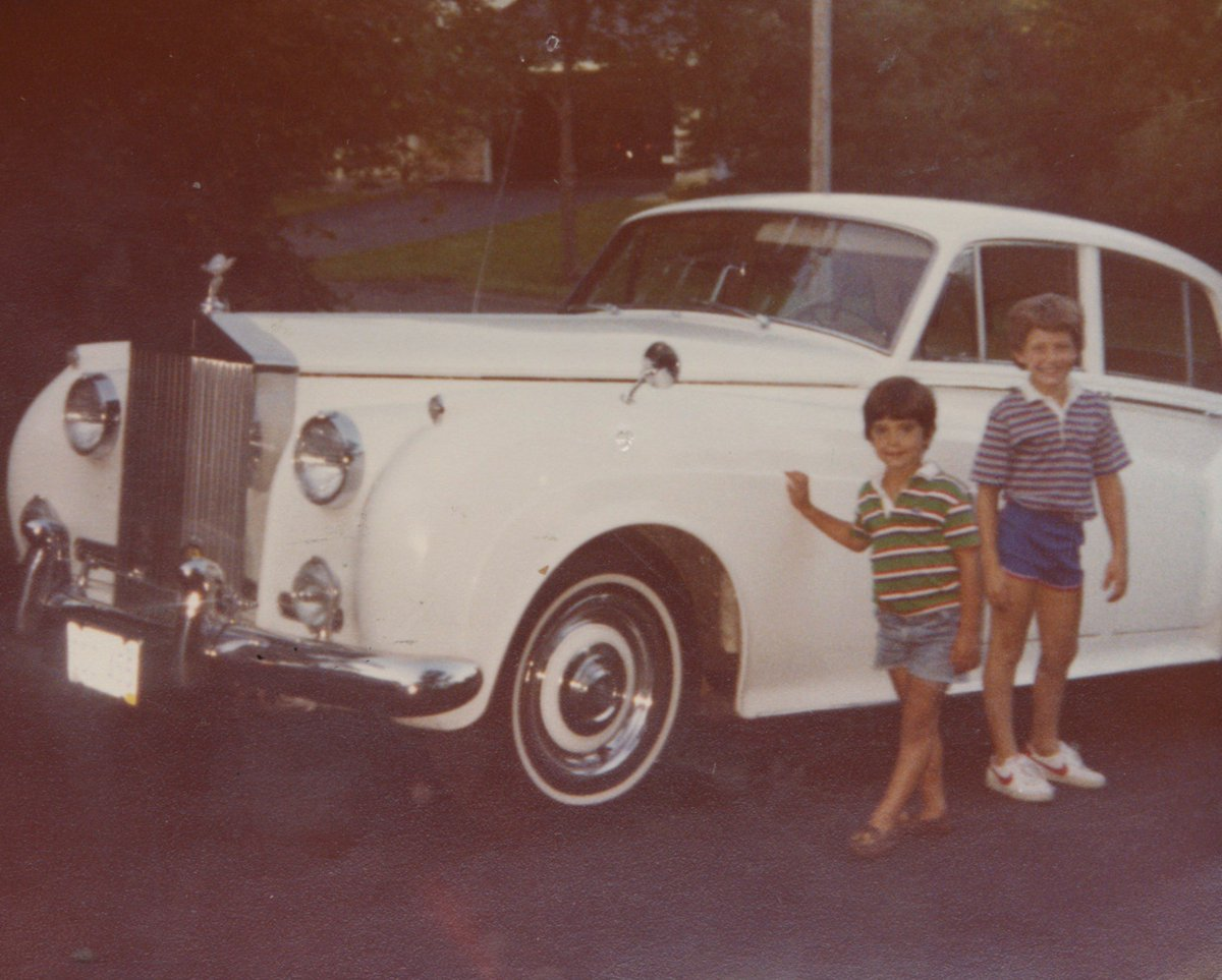 Nice car. Not sure about my shorts. #TBT...