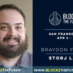 Image for the Tweet beginning: Braydon Fuller knows about #decentralizing