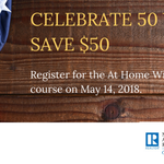 Going to #NARLegislative in Washington, D.C.? Then commemorate the 50th anniversary of the Fair Housing Act by taking NAR's At Home With Diversity course on Monday, May 14 and save $50!https://t.co/mkcauD4vSU