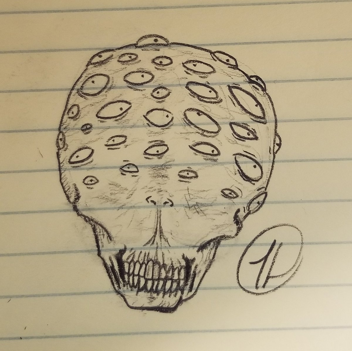 Sketch sketches horror horrorart pencil pencils sketchdaily dailysketch
