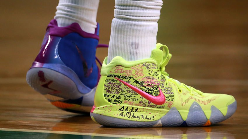 cc83793811172 what do the scribbles on kyrie irvings shoes mean