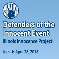 RT @InnocenceIL: Don't forget to register for our 11th annual Defenders of the Innocent Event coming up! Seats are going fast so sign up NO…