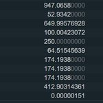 Image for the Tweet beginning: Base price was 6.5. 12