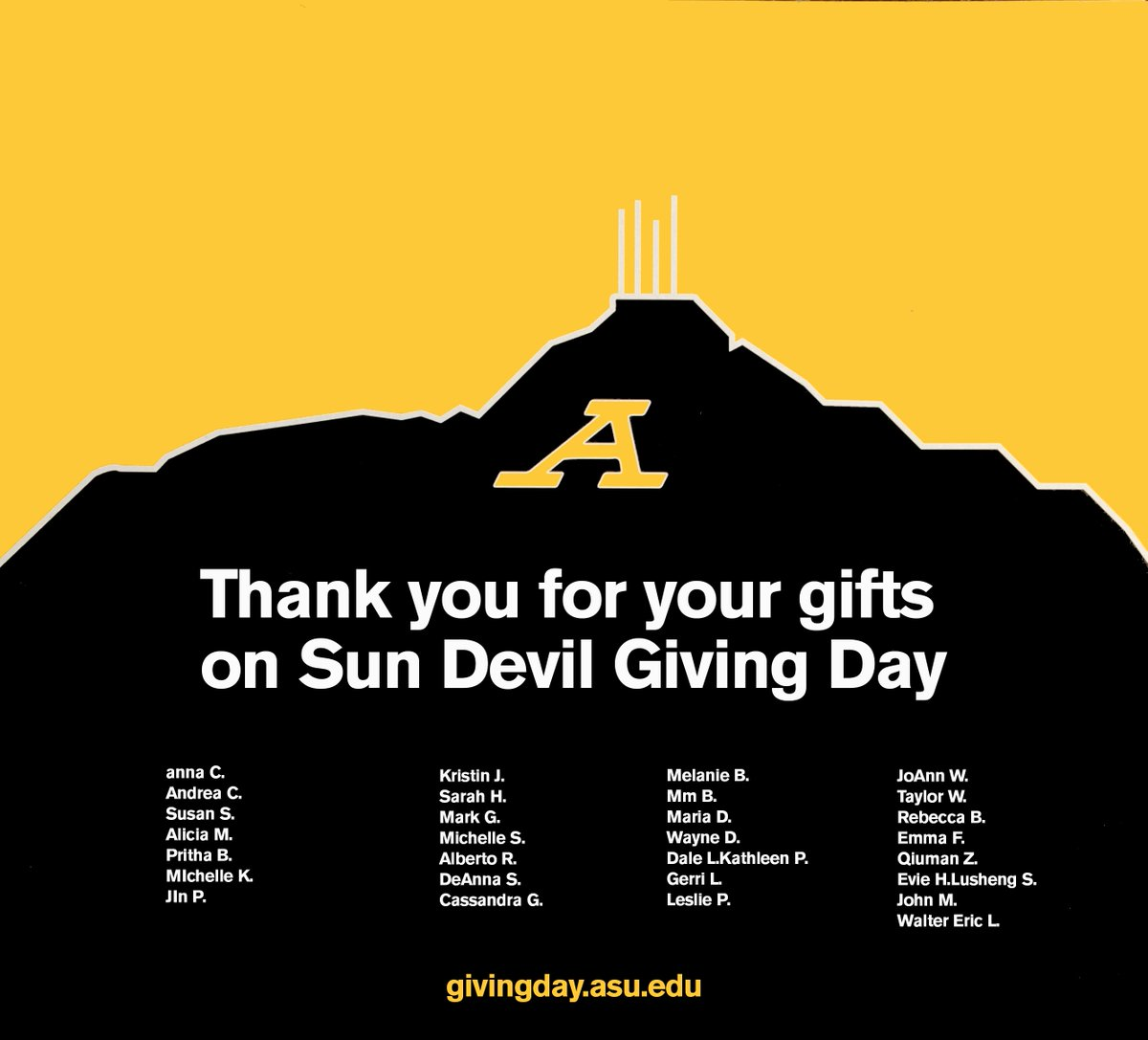 Arizona State University on Twitter: