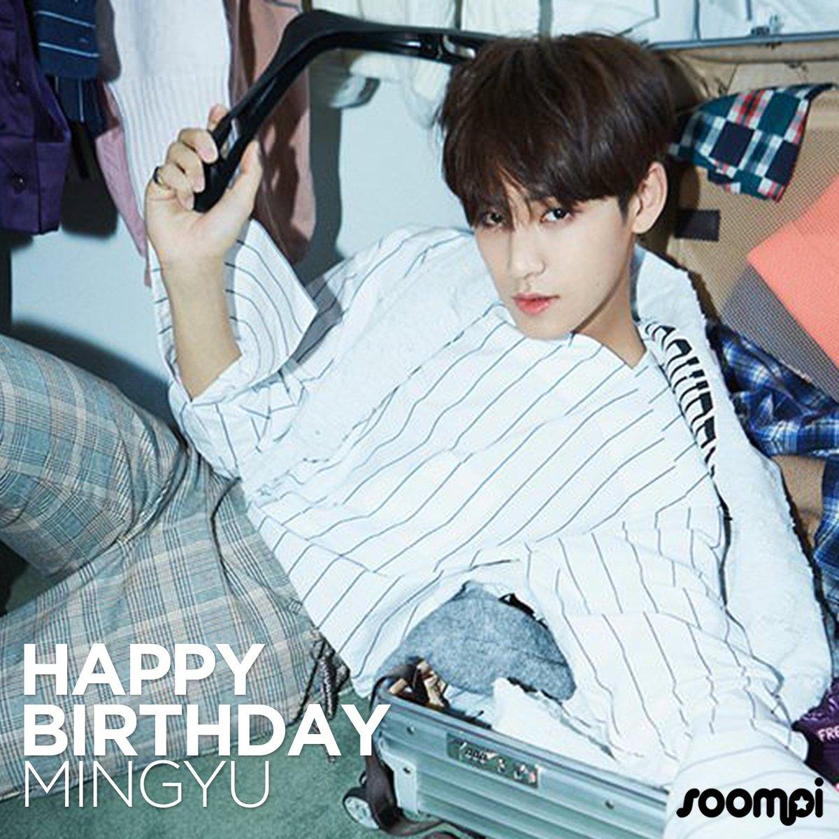 Happy Birthday to #SEVENTEEN's Mingyu! #...