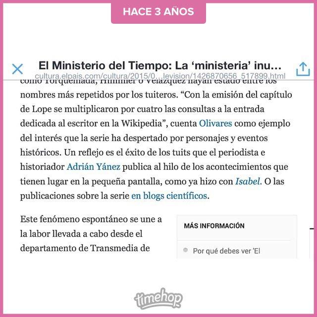 Cuando yo era influencer y salía en El País... https://t.co/ICjDoauCkl