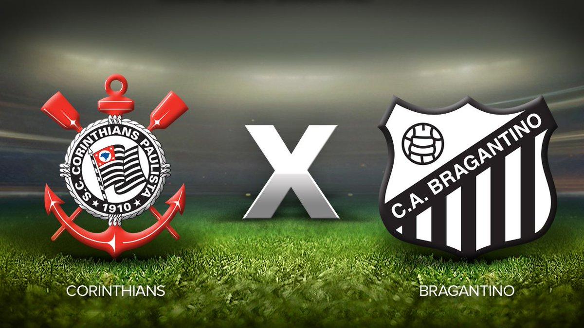 TEMPO REAL: siga Corinthians x Bragantin...