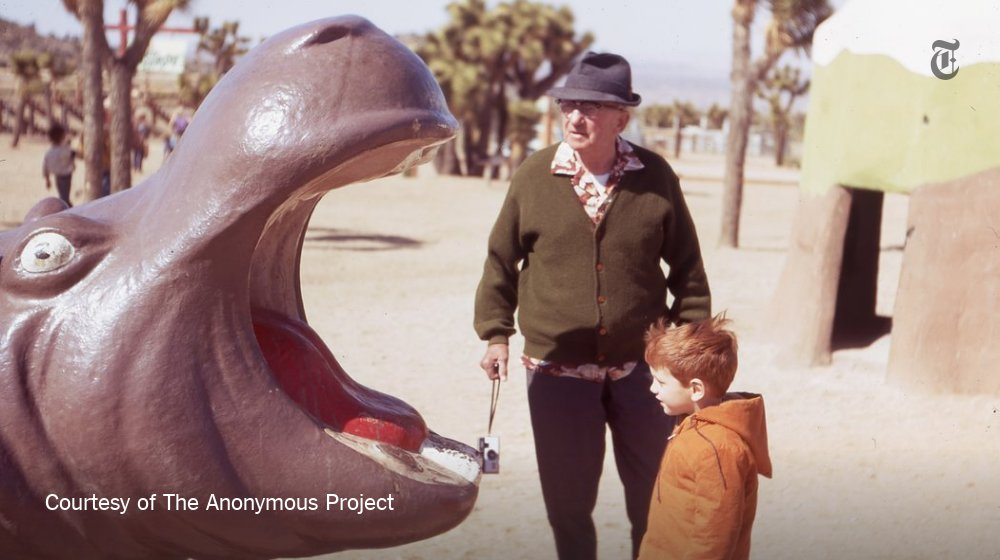These forgotten photos reveal personal moments big and small: https://t.co/ZBMfrd3d3O https://t.co/2YnK4l9AS0