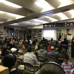 Image for the Tweet beginning: Parents from @Sunkistelem gather to