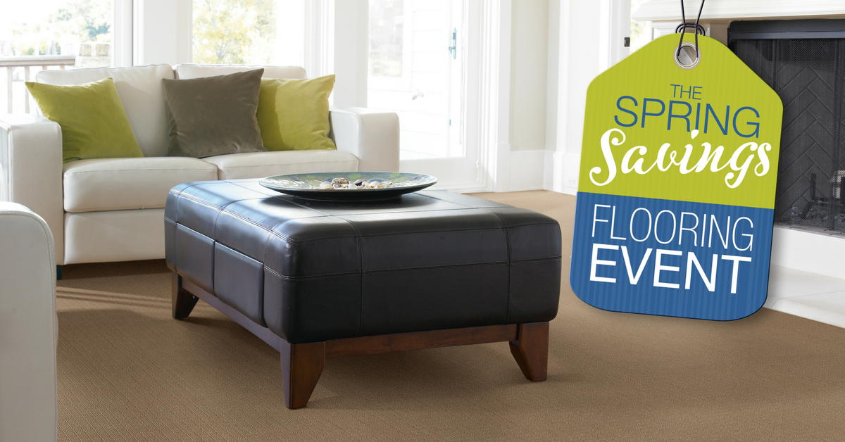 During our spring savings flooring event save on select styles of our exclusive brands like tigressá carpet invincible luxuryvinyl and rustic river