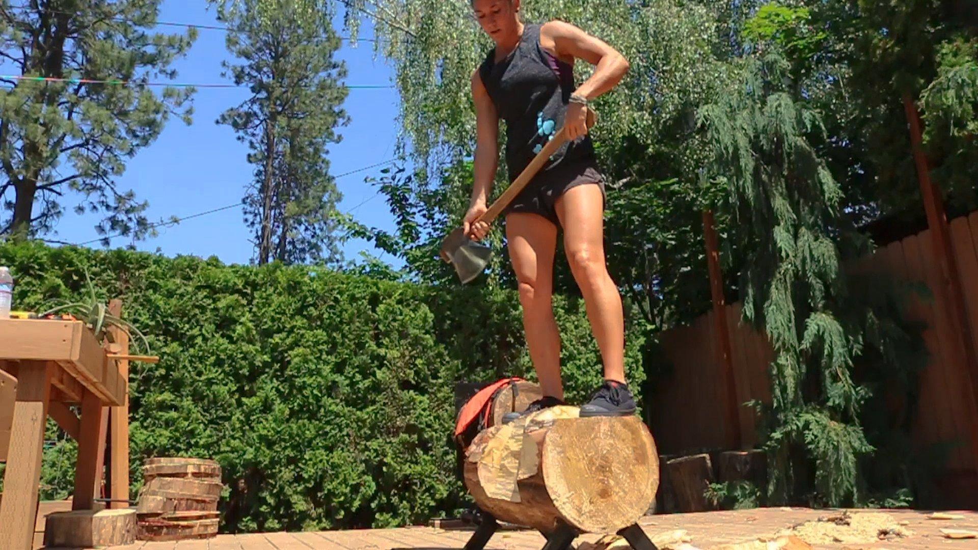 RT @60SecDocs: Meet Erin LaVoie, a world champion in lumberjack sports. @usladychopper #FollowFriday https://t.co/RMofSYzZk9