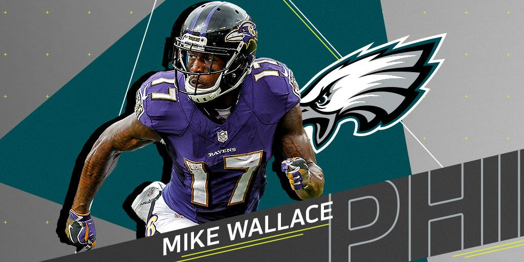 WR Mike Wallace (@Wallace17_daKid) agrees to one-year deal with @Eagles: https://t.co/5ihcYjiGU7 (via @PSchrags) https://t.co/vtpiUK8TGi