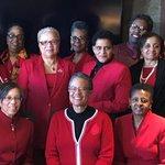 Members of CJA celebrating Sisterhood Month with prayer, praise, and brunch!  #SisterhoodMonth #CJADeltas #TheEAST #TheEastSisterhood #DST1913