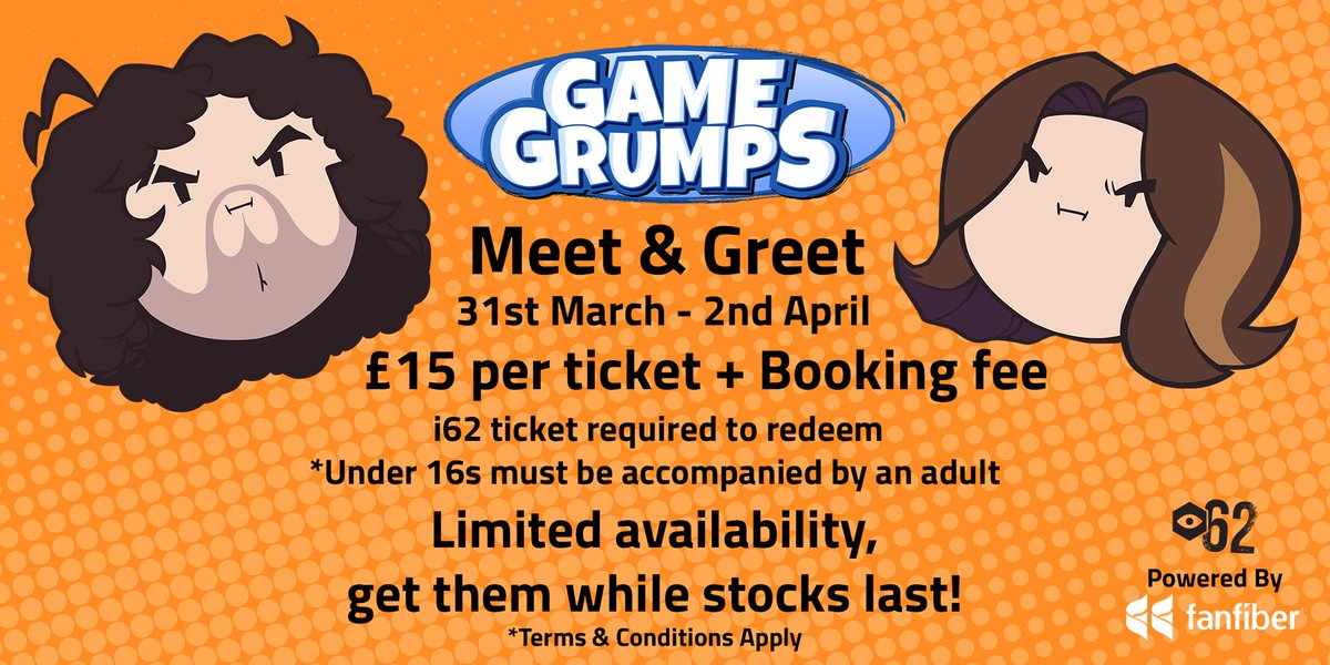 game grumps on twitter we re coming to birmingham england 31 mar