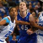 Image for the Tweet beginning: UCLA women's basketball seeks first