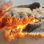 Image for the Tweet beginning: Electrical Fire Makes T-Rex 'Extinct'