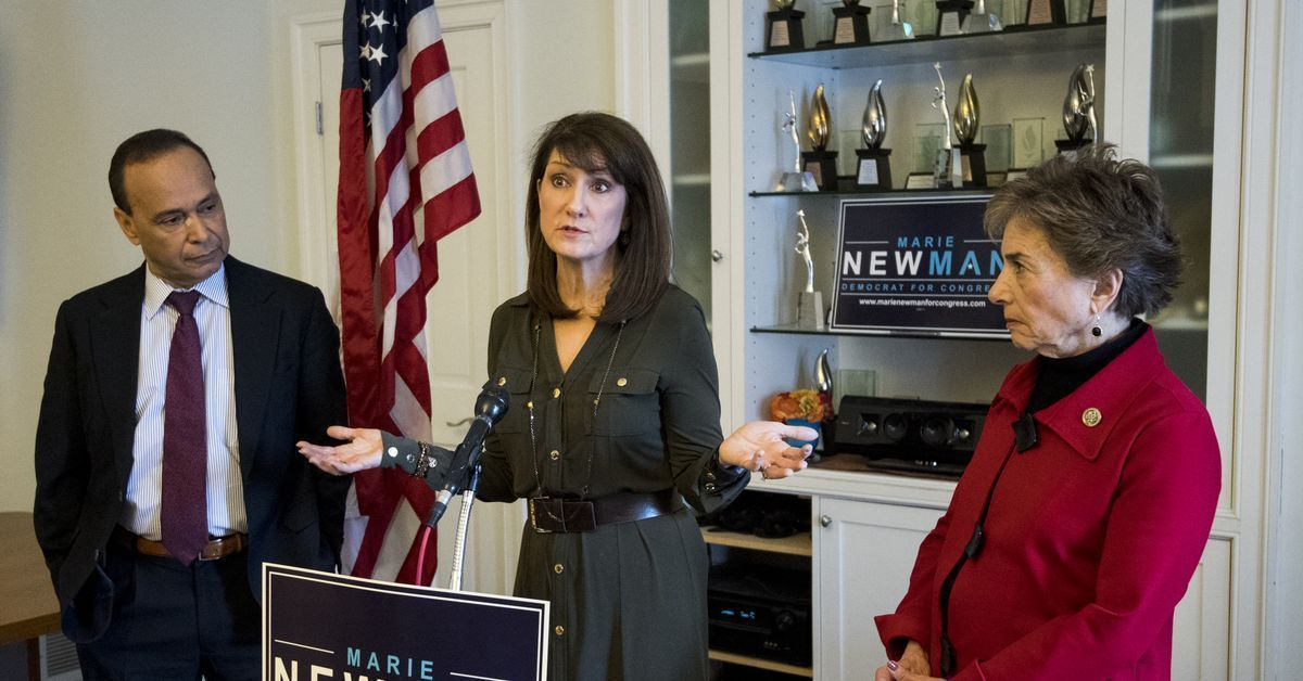 It's a big deal when Marie Newman ran on a progressive platform championing women's health and rights and almost won in #IL03: https://t.co/p759y2VWe8