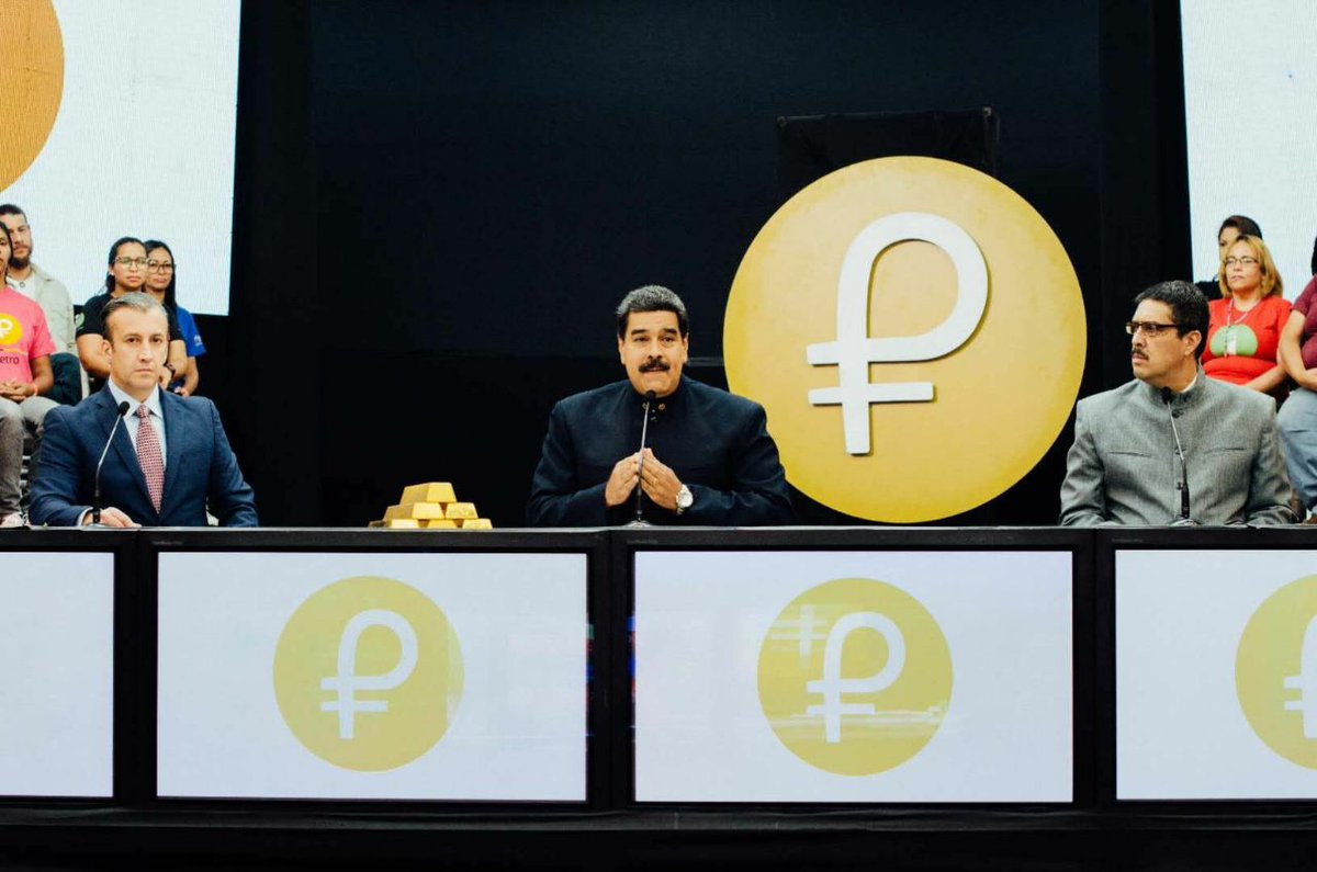 These 30 days we have had a successful pre-sale of the Petro: 200.927 intentions of purchase of 133 countries, for an initial amount of more than $ 5 billion. The Petro came to revolutionize the world economy. #ElPetroEstáBlindado