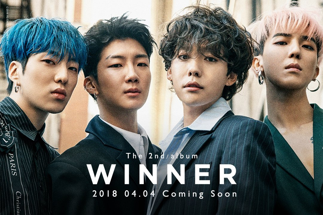 #WINNER COMING SOON IMAGE TEASER  The 2nd Album Release ➡️ 2018. 04. 04  #위너 #COMINGSOON