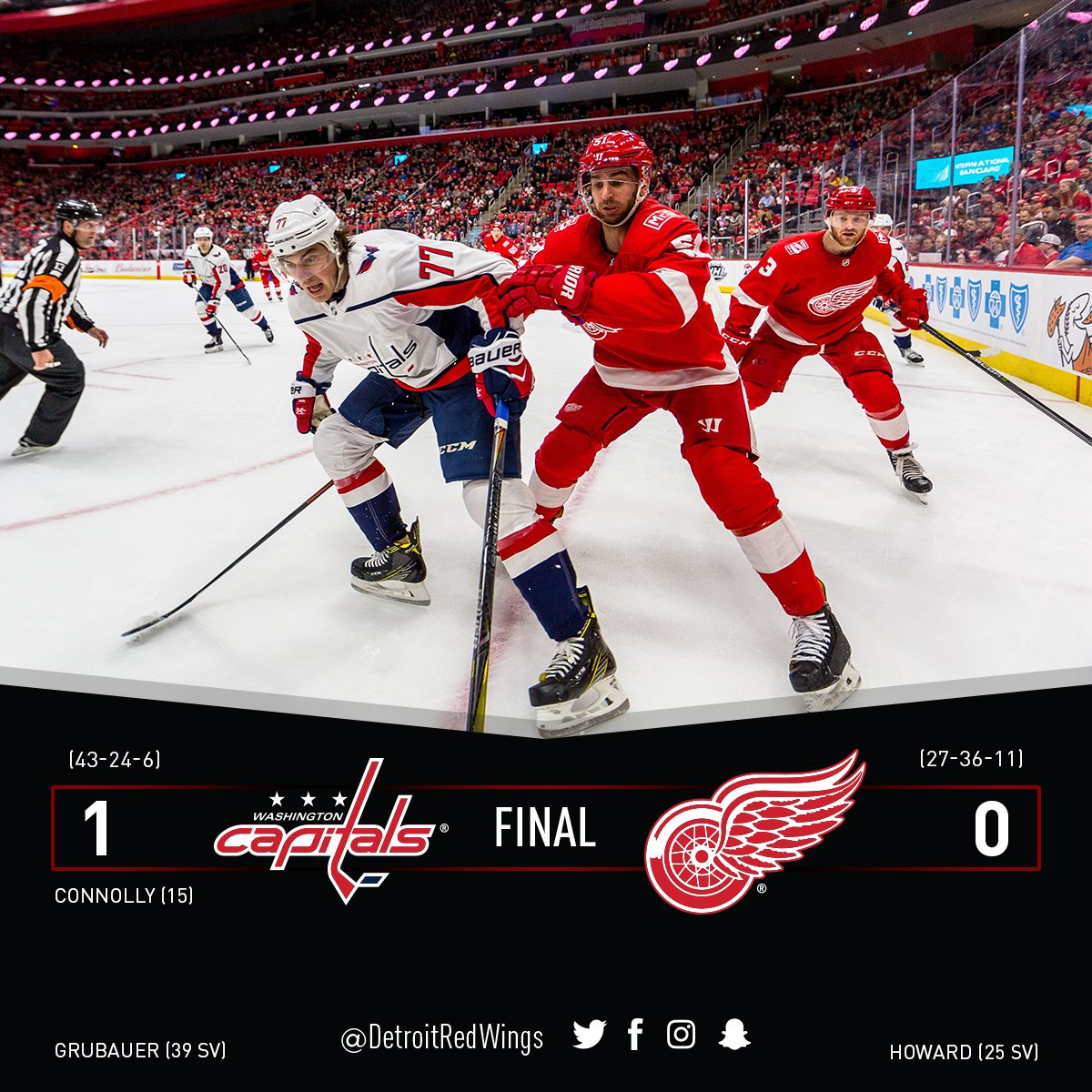 The #RedWings are back on the road for a...