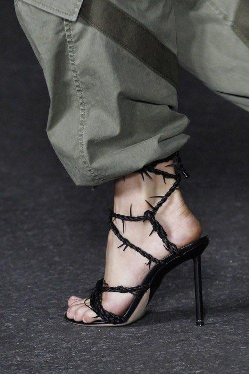 alexander wang lexie barbwire sandals
