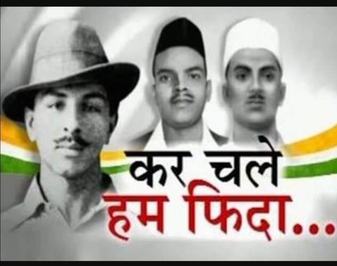 Warriors of #India They chose the hanging rope to free us from chains!  #BhagatSingh<br>http://pic.twitter.com/UqvQQhLPuD