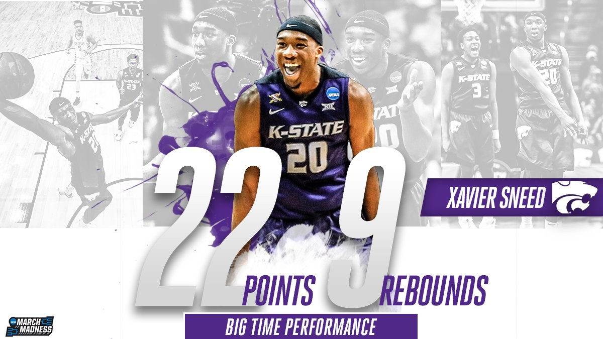 Xavier Sneed knocked down some HUGE shot...