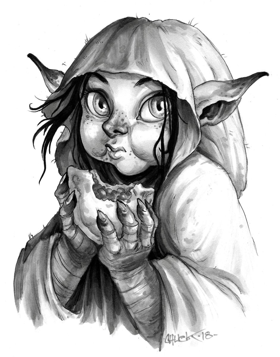 Wasn't planning on drawing Nott from #Cr...