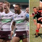 The fuse has been lit!  Rabbitohs taunt Sea Eagles with explosive book about club rivalry, via @BulldogRitchie https://t.co/jrjAsThc6h