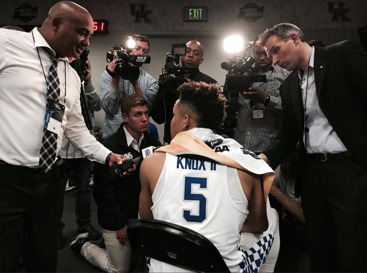 Kevin Knox says he hasn't even thought a...