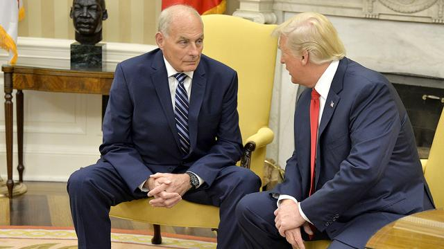 Trump considered firing Kelly and serving as his own chief of staff: report https://t.co/7Yvwc9PYfo