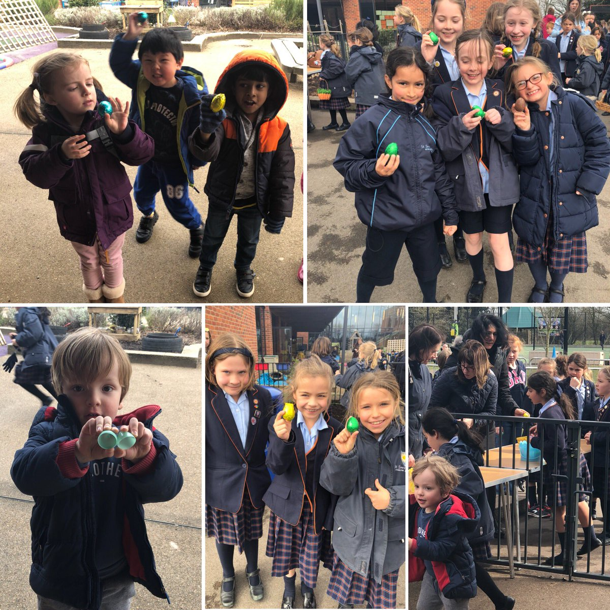 Thank you to the PTA for organising an e...