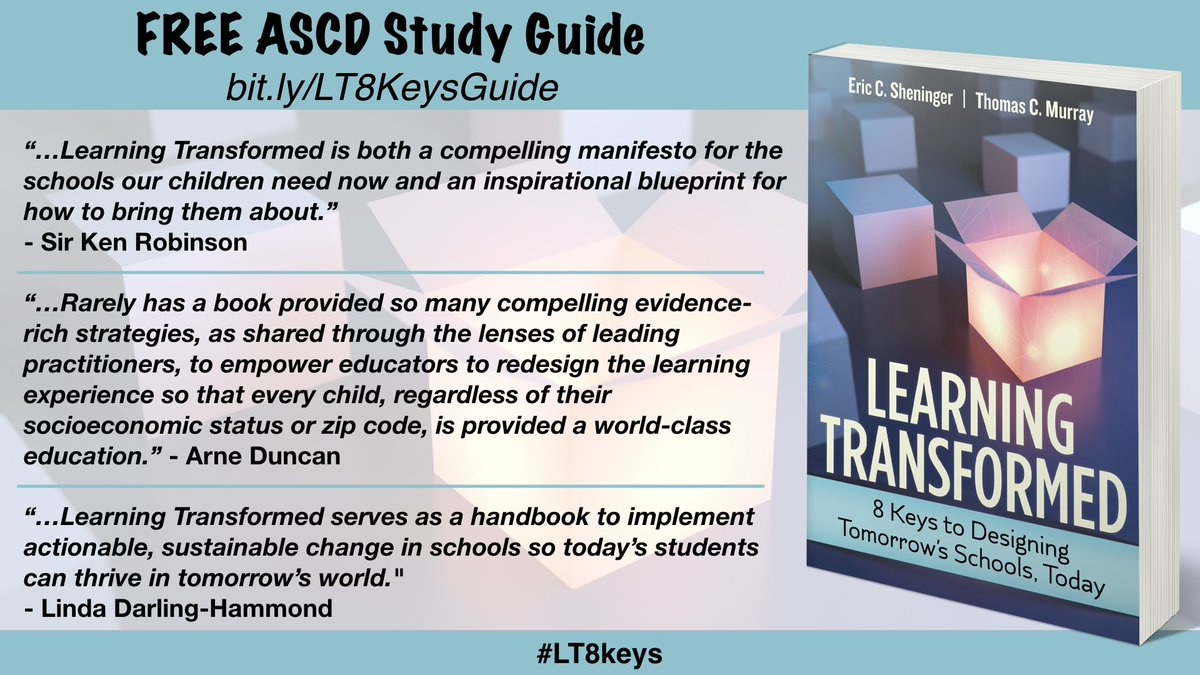 Tom murray on twitter learning transformed my ascd book with seen here httpascdpublicationsbooks117034chaptersan ascd study guide for learning transformed 8 keys for designing tomorrows schools malvernweather Image collections