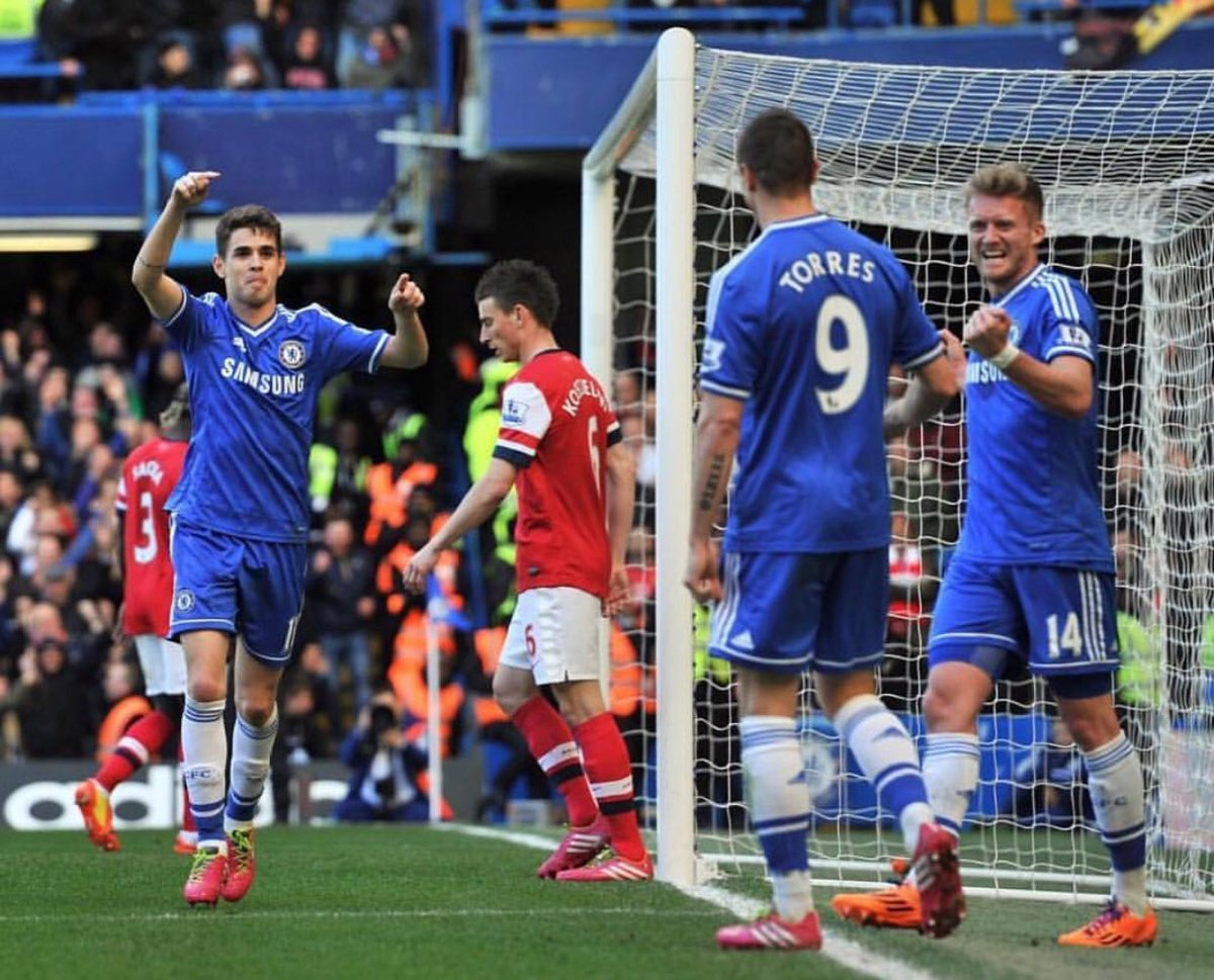 On this day four years ago Chelsea 6x0 Arsenal ! @chelseafc ⚽️⚽️