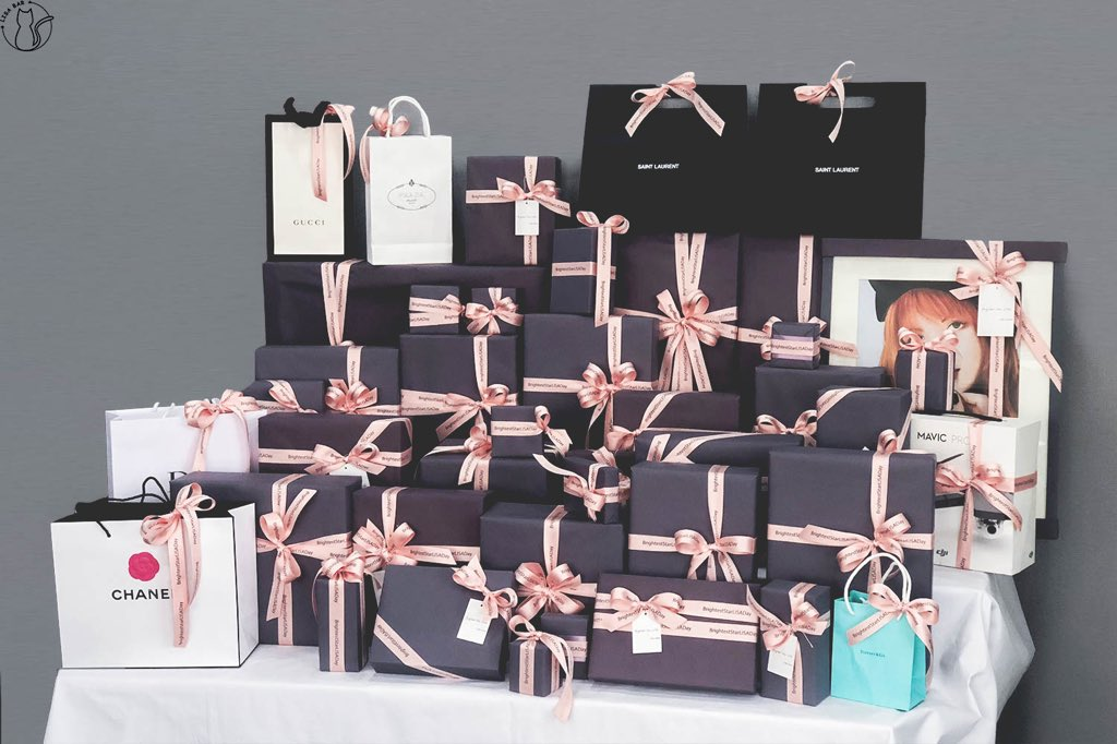 The Detailed Gift Report Will Be Released Today Gifts Represent Love Fr Om Every Chinese Fan Who Raised Fund We Hope LISA Like These