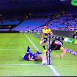 Poetry in motion @Josh_Mansour   NRL #NRLBulldogsPanthers #TripleMNRL