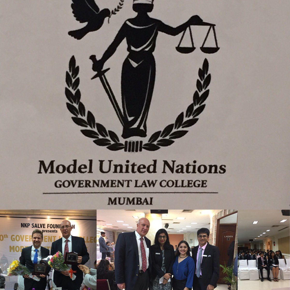 government law college model united