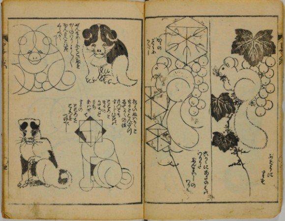 カラパイア : 葛飾北斎から学ぶ絵の描き方。絵を描くための手引書「略画早指南」がインターネット公開。 https://t.co/e3bkdJvC43