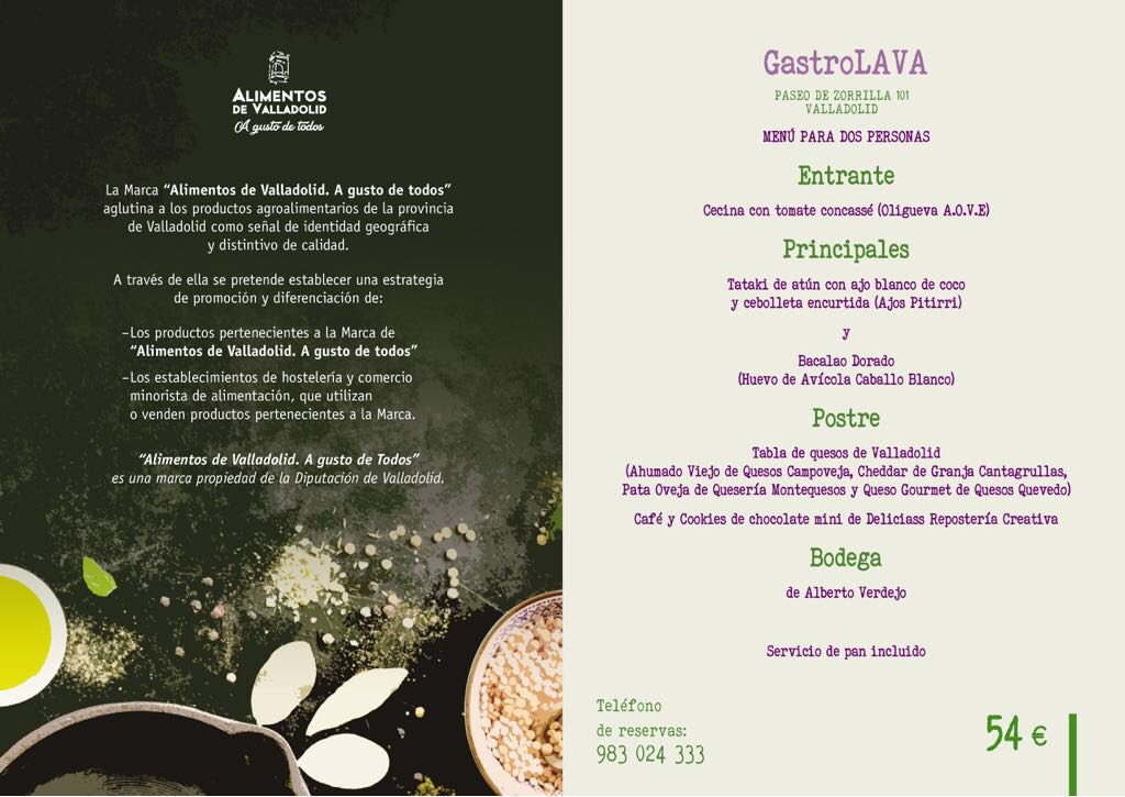 Esta #SemanaSanta participamos en las I Jornadas Gastronómicas #AlimentosDeValladolidConPasion @alimentosVALL @Dip_Va @Apehva