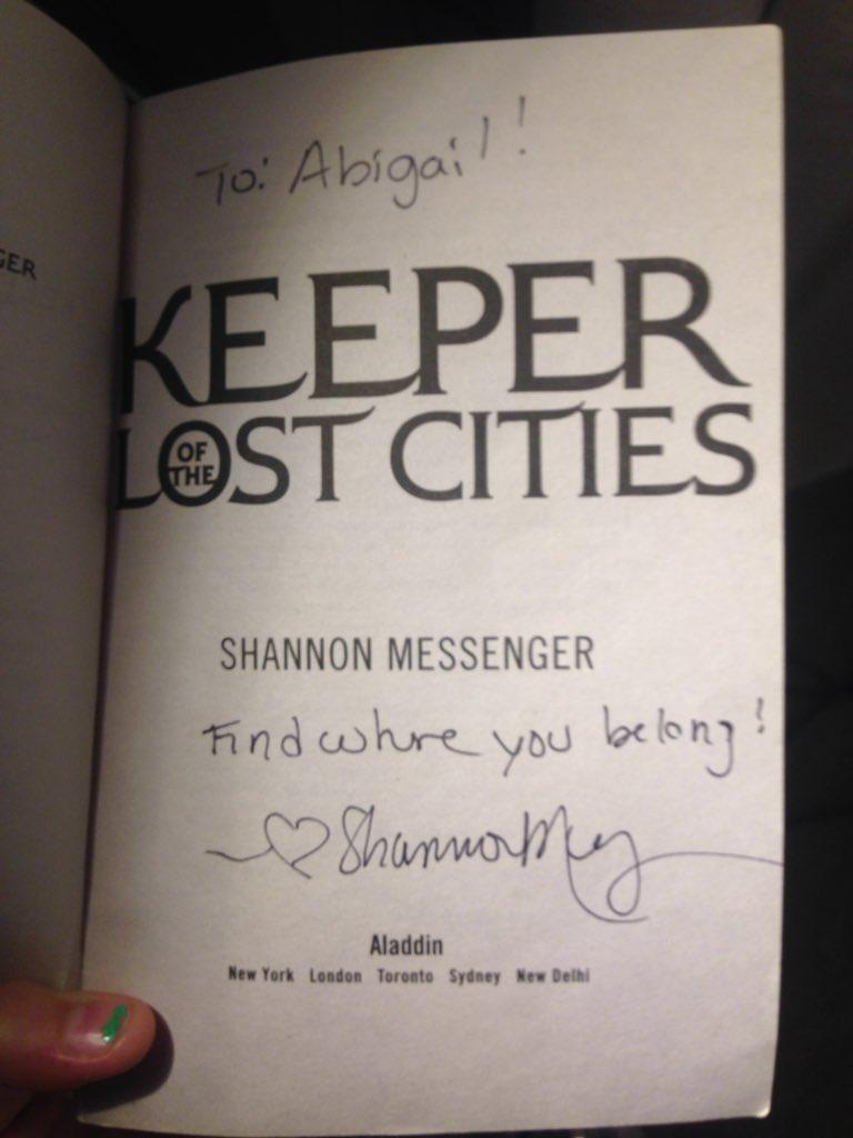 Shannon Messenger on Twitter: