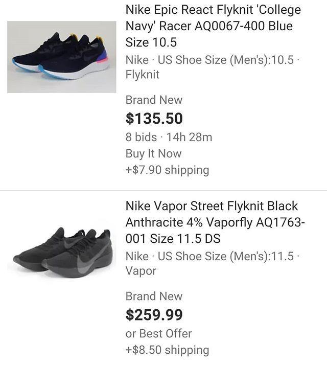 #nike #epicreactflyknit #vaporstreetflyknit #sneakers #shoes #sale #runner  #racing #comfort #feetheat … http://ift.tt/2p6BLCT  pic.twitter.com/QQ0WyUpJpv